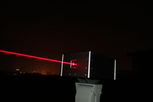 红色地标激光灯