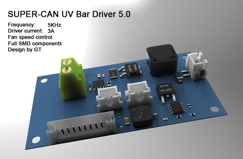 UV灯驱动板