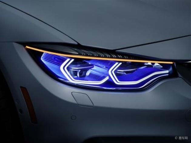 宝马激光大灯升级 可自动调节照射角度