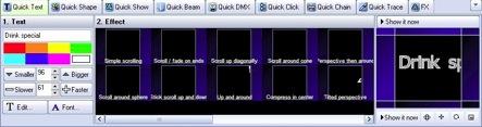 QuickText tools
